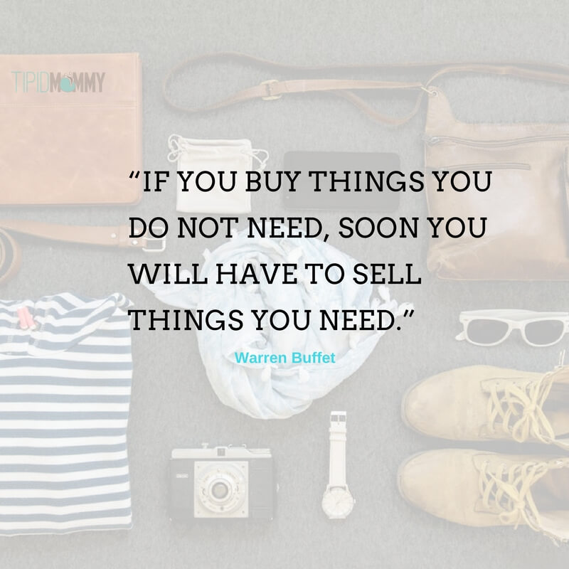 """IF YOU BUY THINGS YOU DO NOT NEED, (2)"