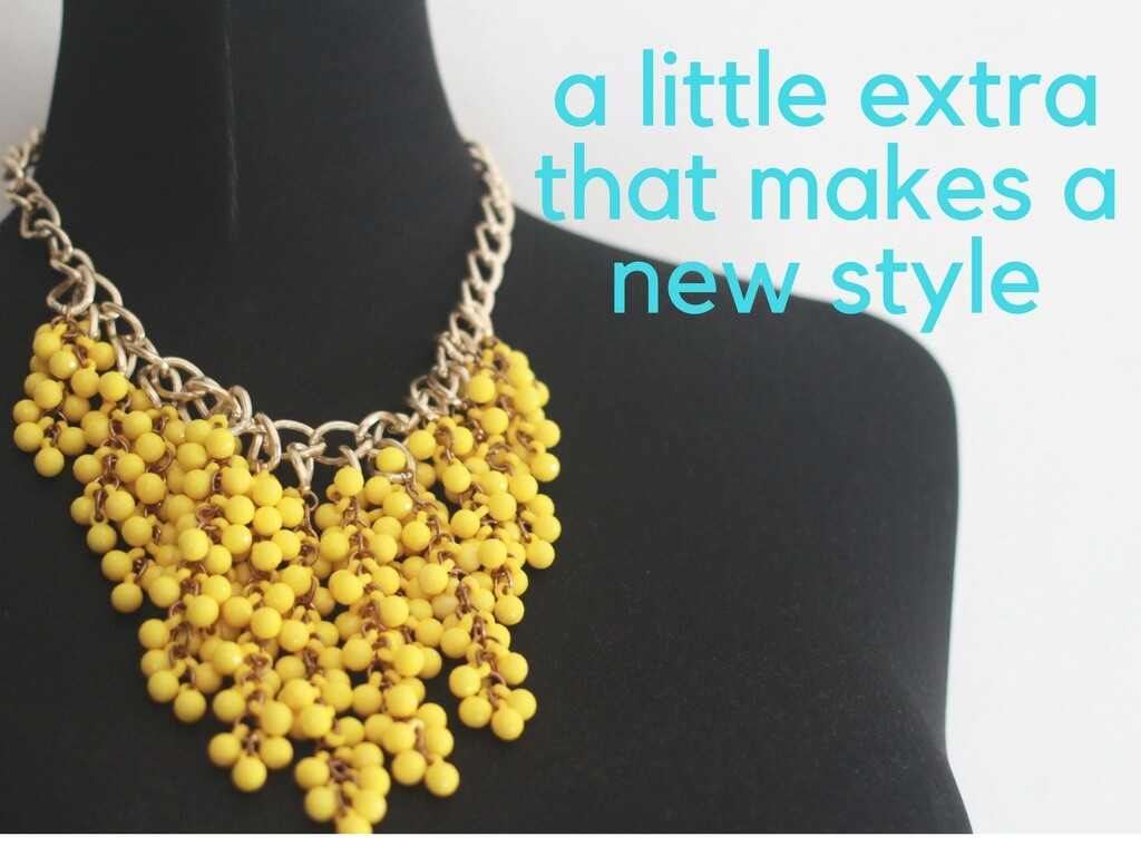 a little extra that makes a new style-2