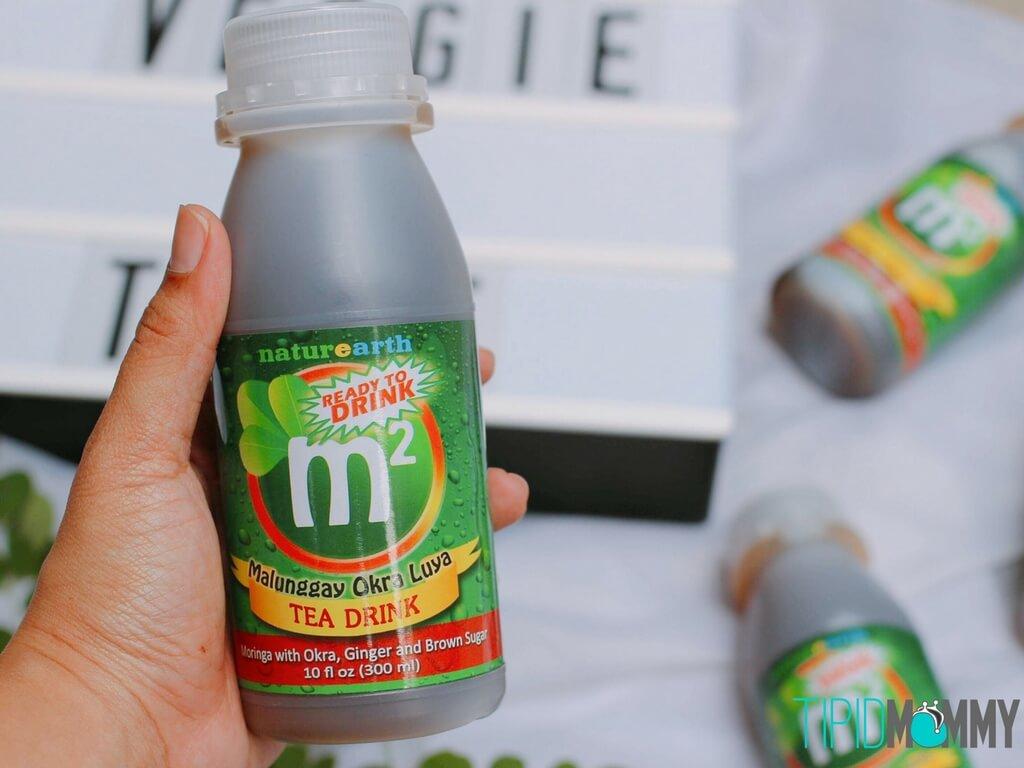 M2 Malunggay, Okra & Ginger Tea-4
