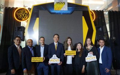 Maybank launched M.O.V.E (Mobile Optimized Virtual Experiences)