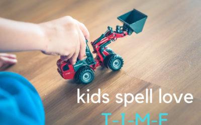 """Kids spell love """"T-I-M-E"""""""