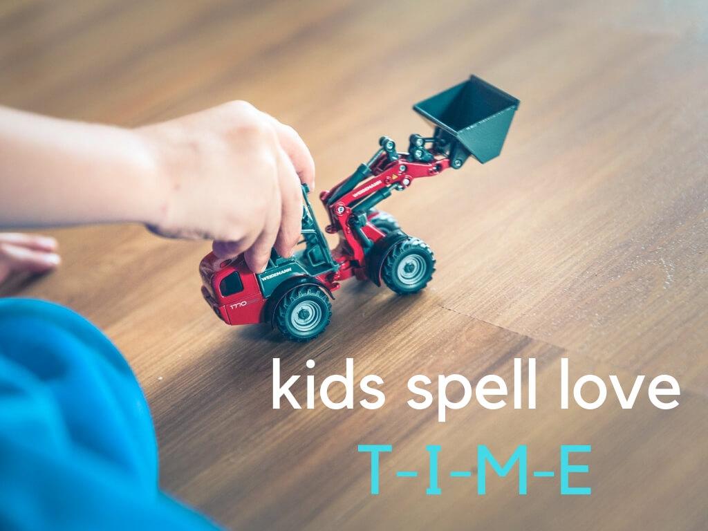 kids spell love