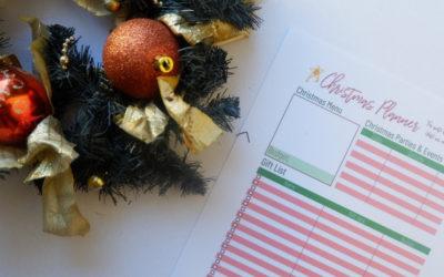 Christmas Budget Planner (Free Printables)