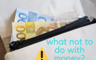 What not to do with money?