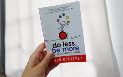 "Minimalism: ""Do Less and Be More"""