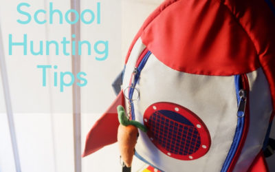 6 School Hunting Tips for your preschoolers