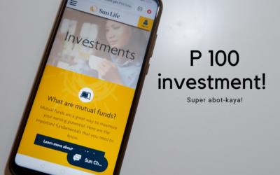 100 pesos mutual fund investment